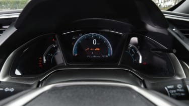 Honda Civic long-term review - Civic speedo