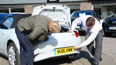 Long-term test review Mazda MX-5 - Lesley boot