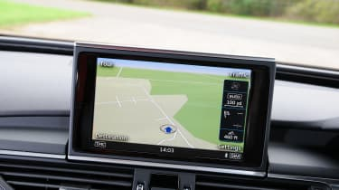 Audi A7 - nav screen