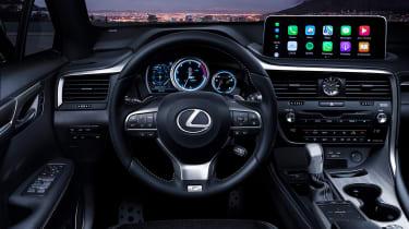 Facelifted Lexus RX - interior