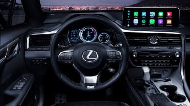 Facelifted Lexus RX - interior