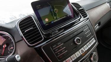 Mercedes GLS infotainment