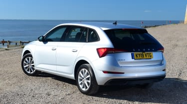 Skoda Scala - rear static
