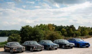Jaguar XJ years: XJ6, XJ12, XJ40 and XJR 575 driven header
