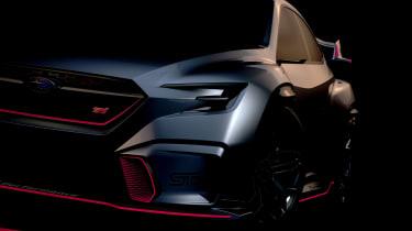 Subaru Viziv Performance STI concept - teaser front