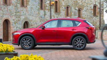 Mazda CX-5 2017 - manual Tuscany side