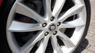 Used Jaguar XF - wheel