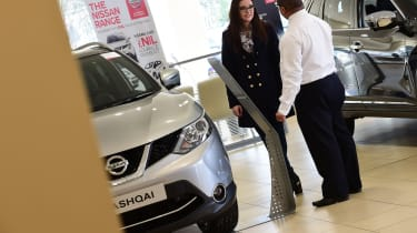 How to negotiate the price of a new car - Becky Qashqai