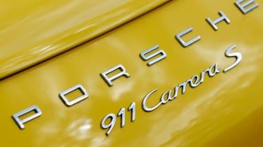 Porsche 911 badge
