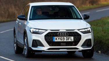 Audi A1 Citycarver - front cornering