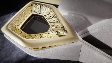 Aston Martin Lagonda Vision concept - interior detail