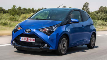 Best first cars for new drivers - Toyota Aygo