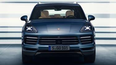 Porsche Cayenne - full front