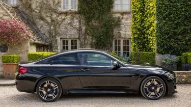 BMW M4 2017 facelift side