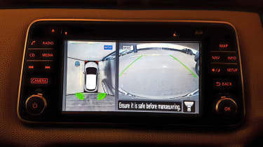 Nissan Micra long-term review - Around View Monitor