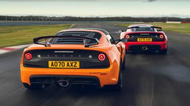 Lotus Exige Final Editions - rear