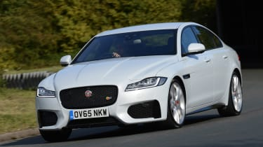 """Jag has done a great job of making the new XF feel like a mini XJ. It's a very relaxing car to drive"""
