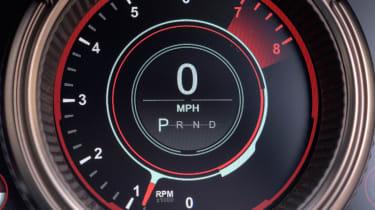 Aston Martin DB11 - speedo