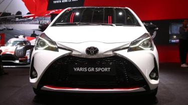 Toyota Yaris GR Sport - Paris full front