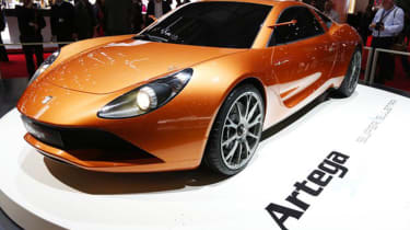 Artega Scalo Superelletra by Touring - Geneva front quarter