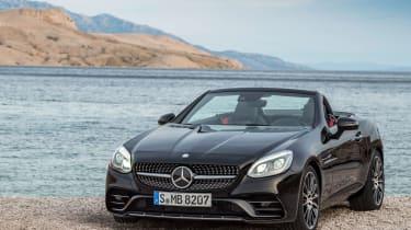 Mercedes SLC roadster - front static