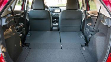 Honda Jazz - boot seats down