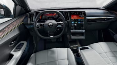 Renault Megane E-Tech Electric SUV - dash