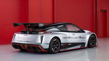 Nissan Leaf Nismo RC - rear studio