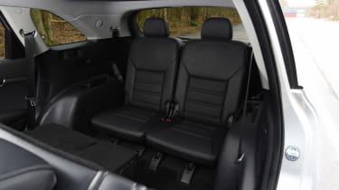 Kia Sorento - back seats