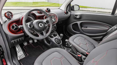 Smart ForTwo - cabin