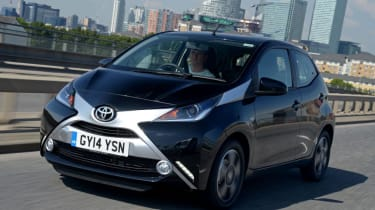 Toyota Aygo - Front