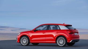 Audi Q2 Red side again