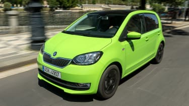 Skoda Citigo - front action