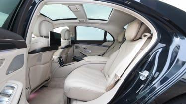 Mercedes S-Class - seats