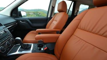 Land Rover Freelander facelift seats
