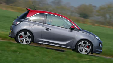 Vauxhall Adam Grand Slam - side