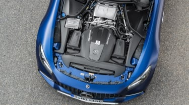Mercedes-AMG GT C - engine
