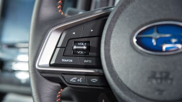 Subaru XV - steering wheel