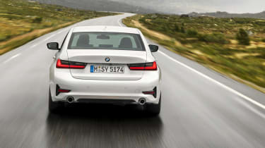 BMW 3 Series - full rear