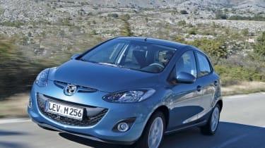 Mazda 2 front