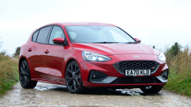 Ford Focus ST automatic - front static