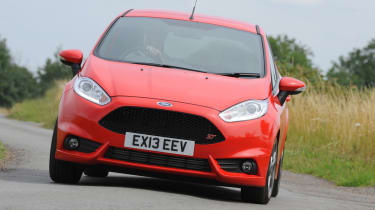 Ford Fiesta ST Mountune front action