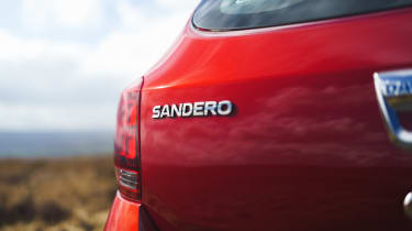 Dacia Sandero Stepway Techroad - Sandero badge