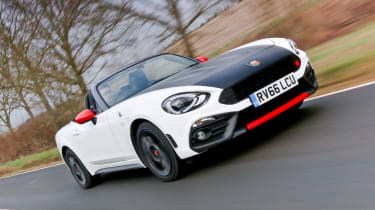 Abarth 124 Spider - front