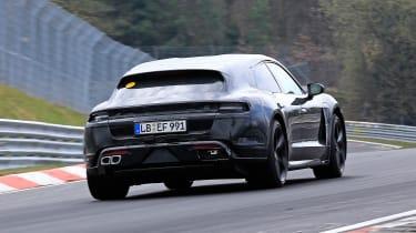 Porsche Taycan Sport Turismo - spyshot 12
