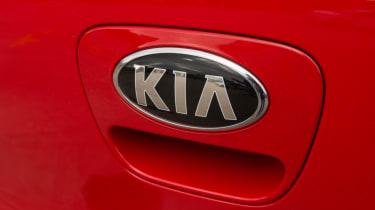 Triple test –Kia Picanto - Kia badge