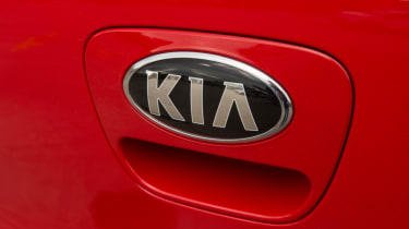 Triple test – Kia Picanto - Kia badge