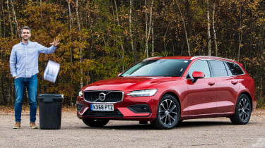 Volvo V60 - long termer first report header