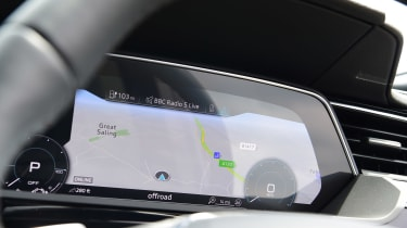 Audi e-tron - dials