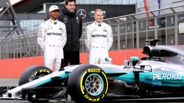 Formula 1 2017 - Mercedes drivers